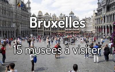 15 musées à visiter à Bruxelles