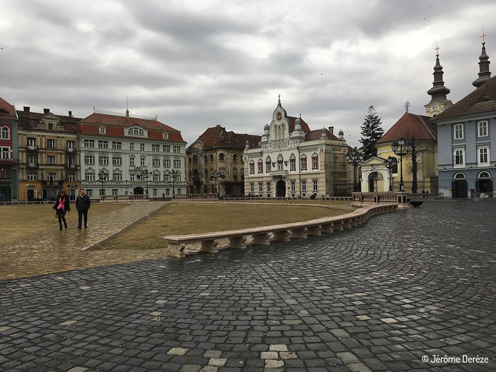 La plus belle place de Timisoara - Piata Unirii