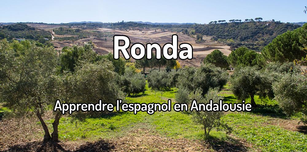 Apprendre l'espagnol à Ronda –Aprender español en Ronda