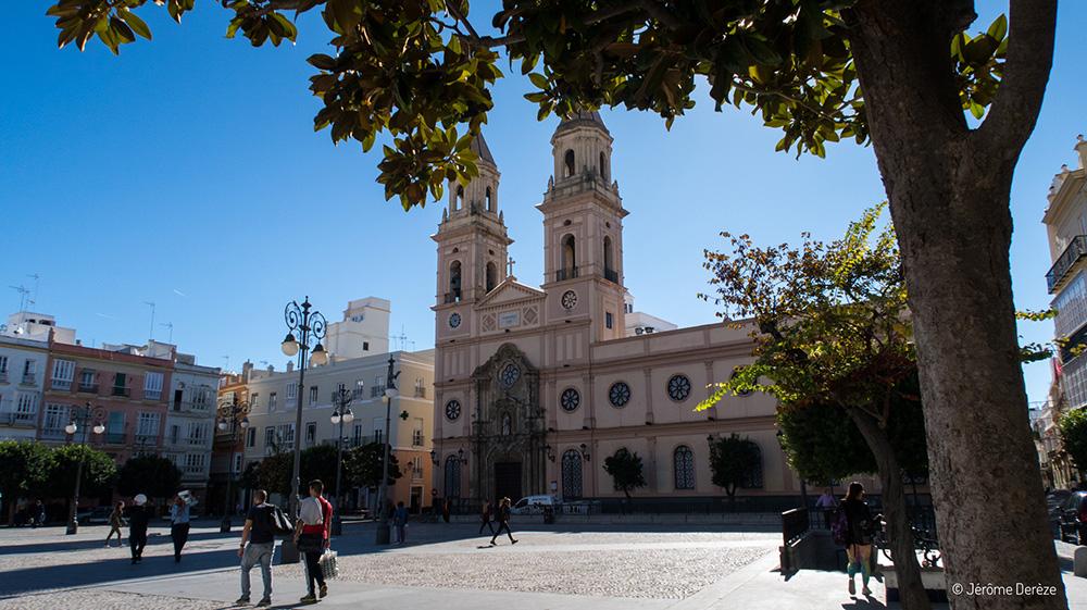 Plaza de San Antonio à Cadix