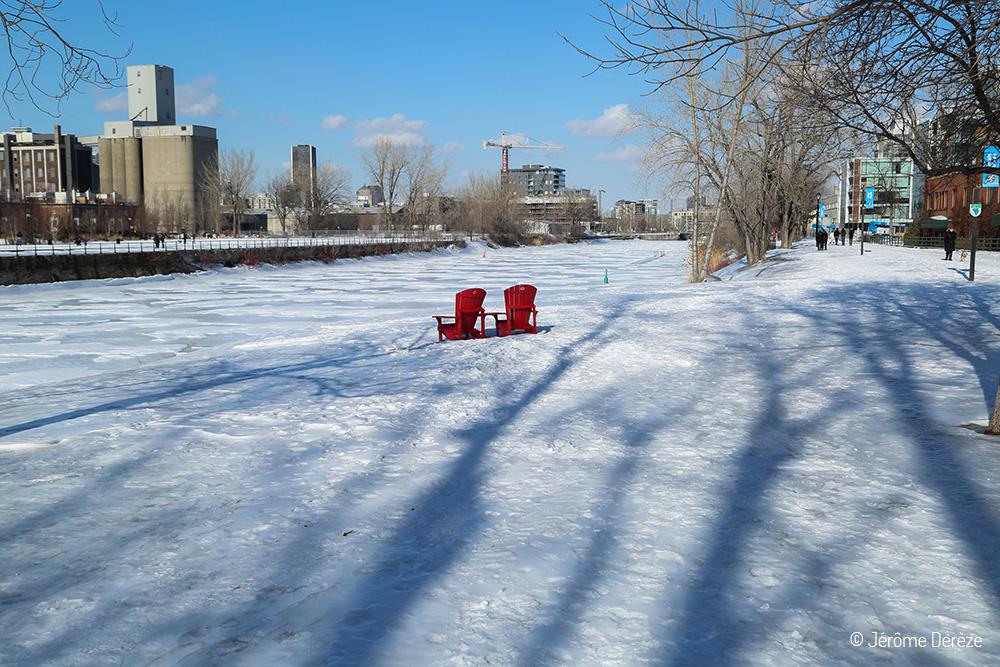 Canal Lachine gelé