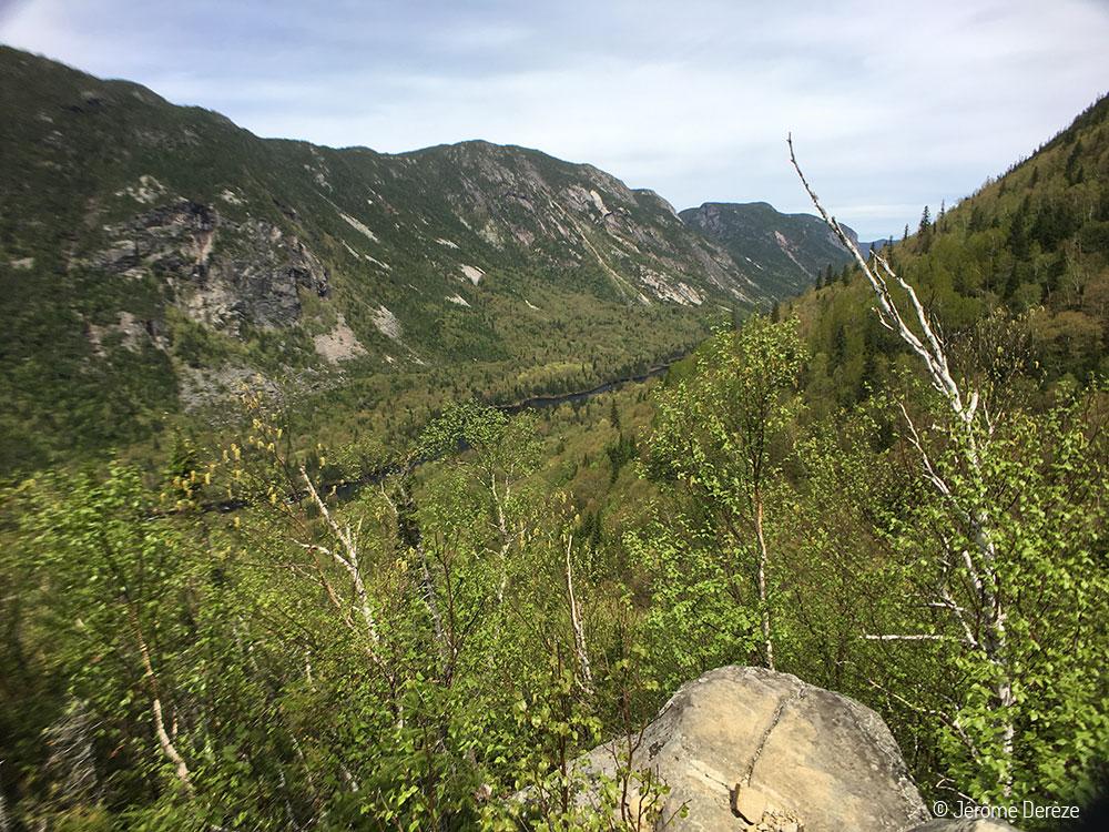 Randonner à Charlevoix - Parc national des Hautes Gorges de la rivière Malbaie - Acropole des draveurs