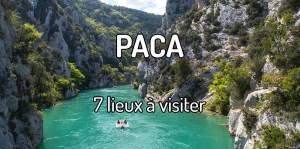 Visiter la région PACA