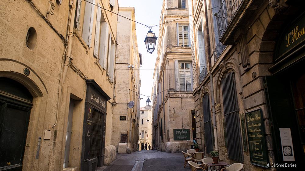 Vieux centre de Montpellier - l'écusson