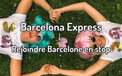 Elles rejoignent Barcelone en stop pour la bonne cause
