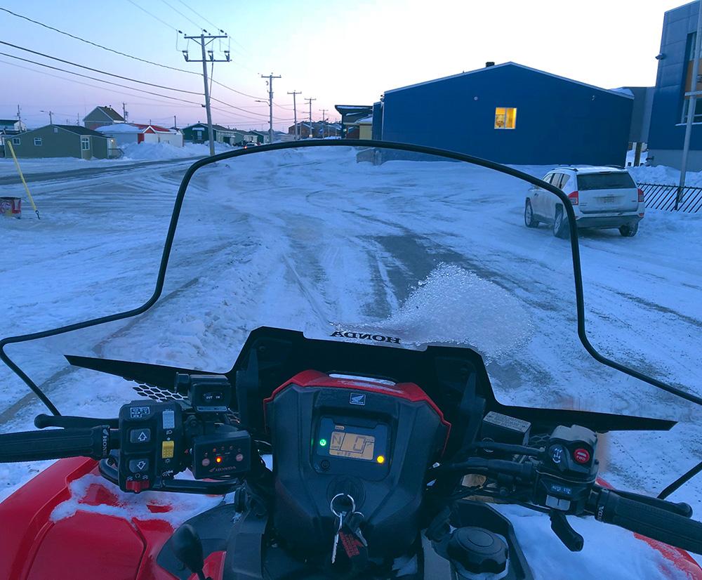 Hiver a Kuujjuaq dans le Nunavik