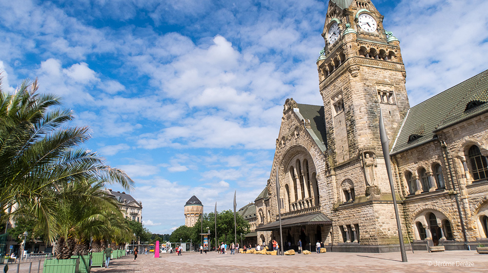 Visiter la gare de Metz