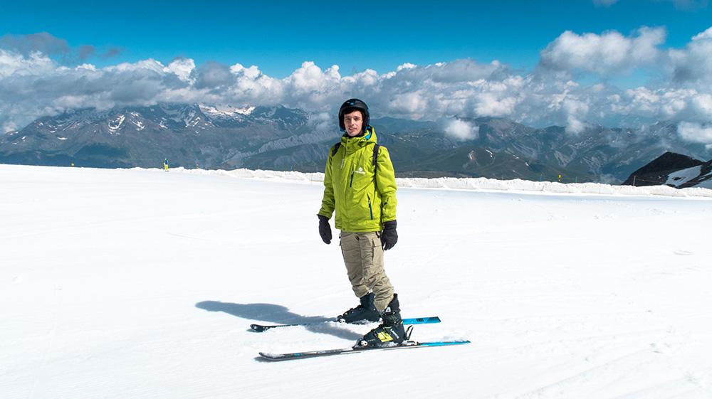 Faire du sport adrénaline dans les Alpes - Ski en été