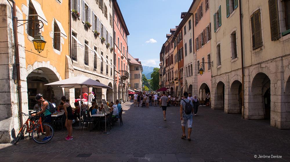 Visiter Annecy et voir la vieille ville d'Annecy
