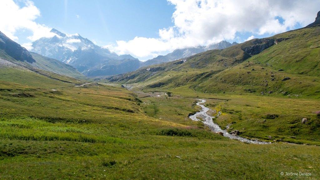 Beaux paysages dans le Parc national de la Vanoise