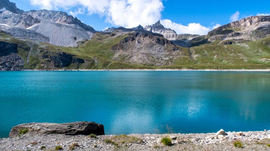Randonner au Parc de la Vanoise - Lac de la sassière