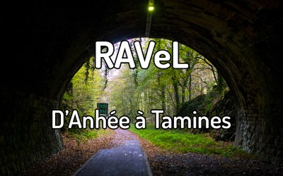 Parcourir le RAVeL d'Anhée à Tamines