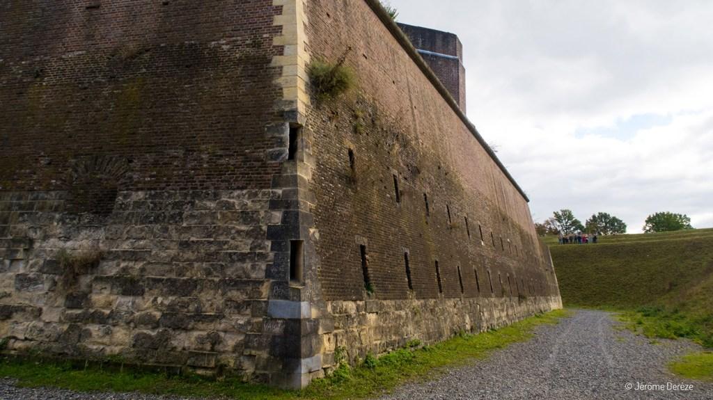 Extérieur du Fort Saint Pierre à Maastricht