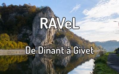 Parcourir le RAVeL de Dinant à Givet