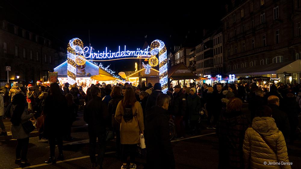 Visiter le marché de noël de strasbourg