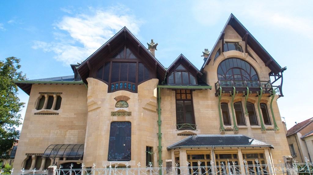 Visiter la villa majorelle de nancy