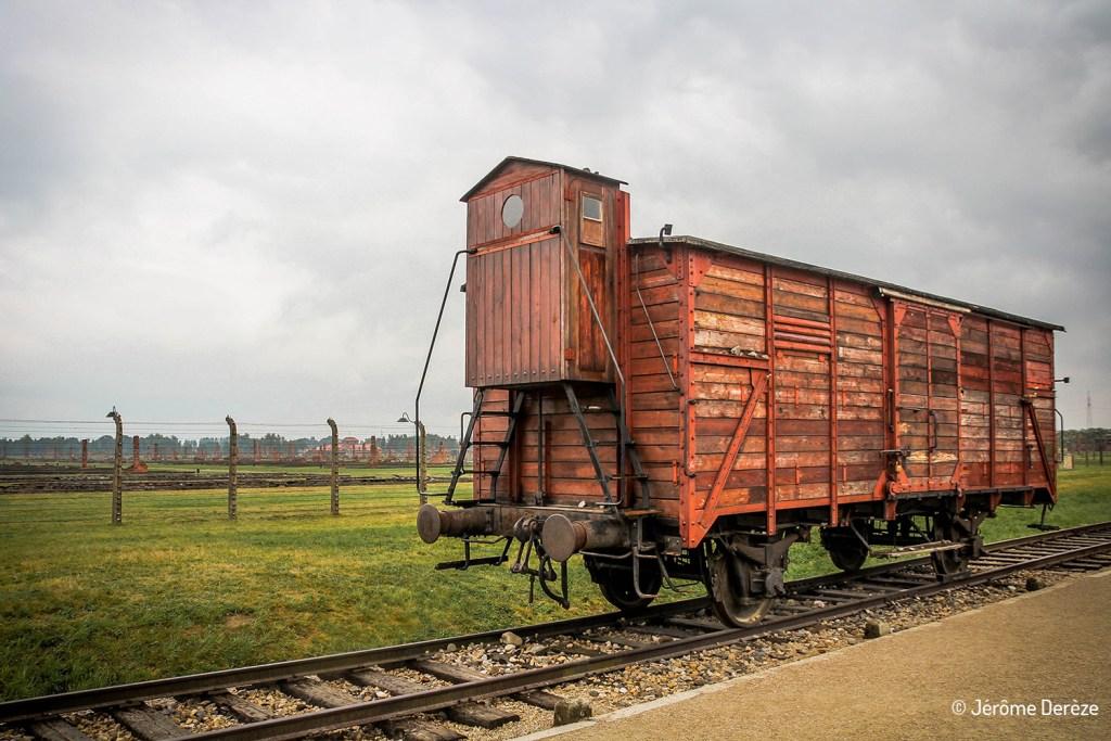 wagon à Birkenau