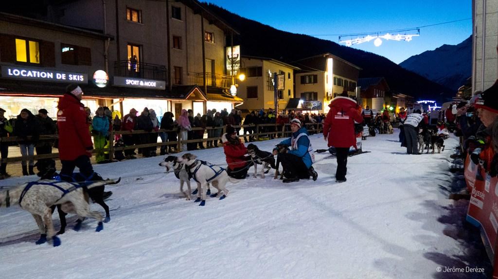 Départ sur la Grande Odyssée Savoie Mont Blanc