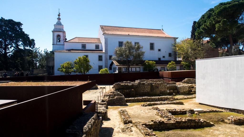 Château Saint-Georges à Lisbonne