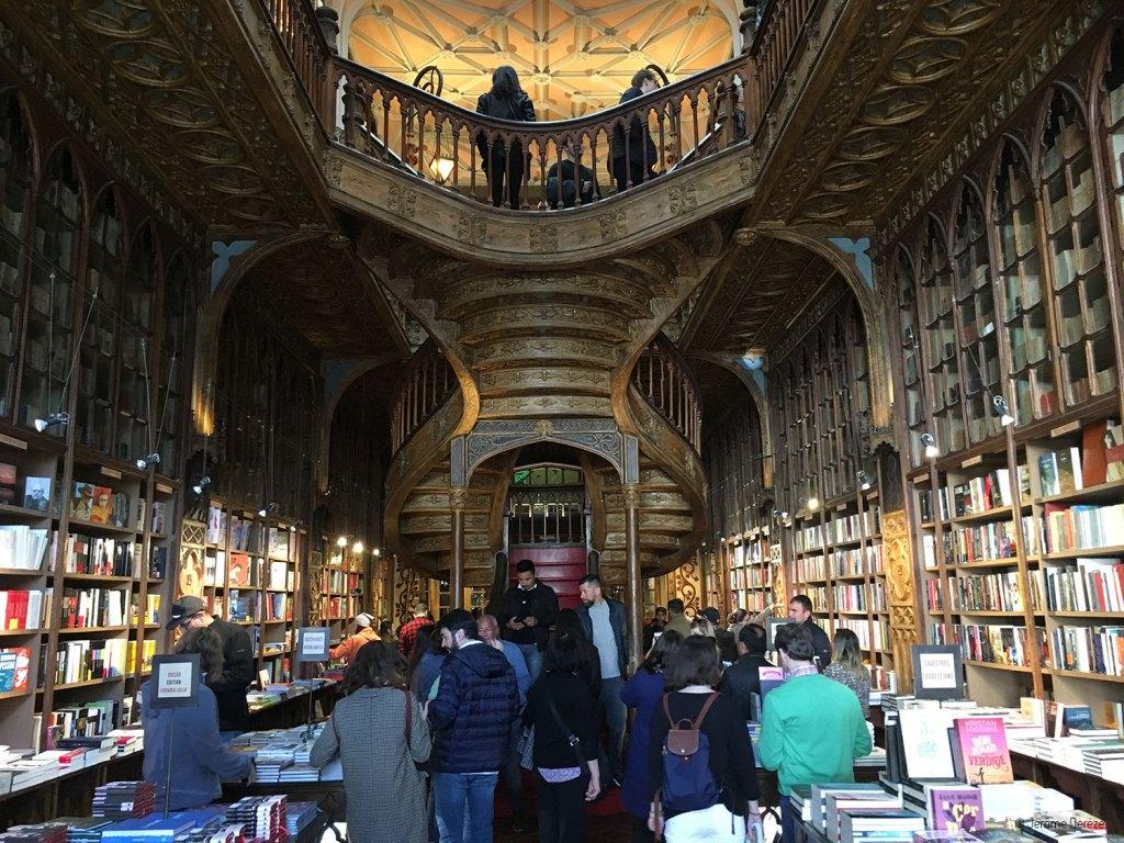 librairie Harry Potter de porto