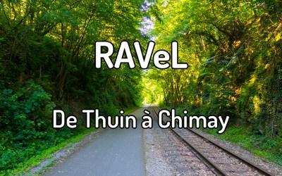 Parcourir le RAVeL de Thuin à Chimay
