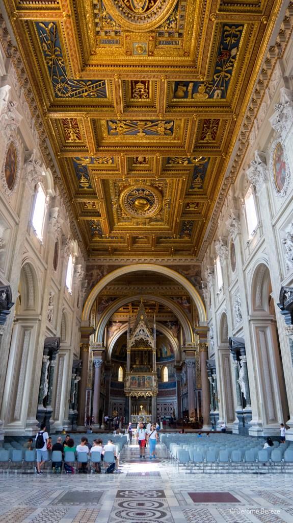 Intérieur de la Basilique Saint-Jean-de-Latran