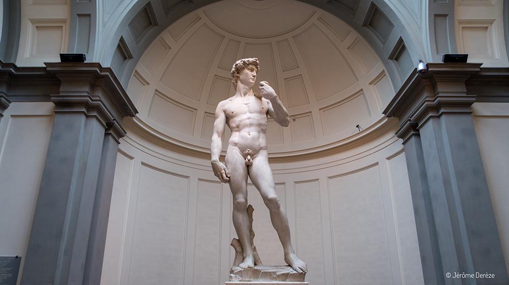 sculpture de Michel-Ange - David