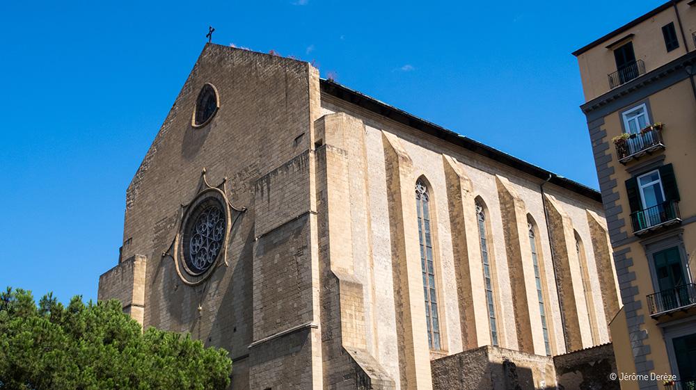 Basilique Santa Chiara à Naples