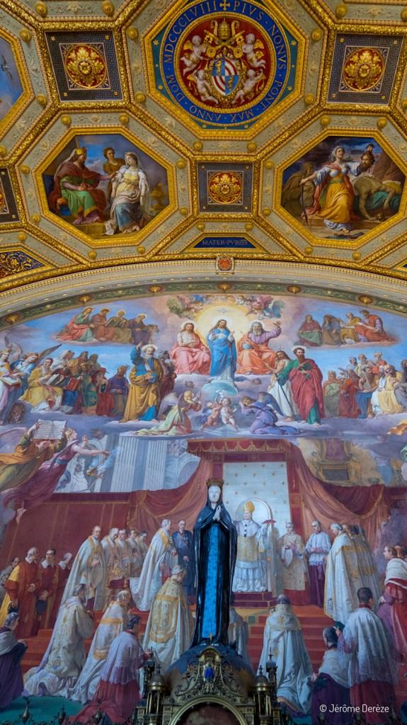 Fresques et plafond - Musées du Vatican