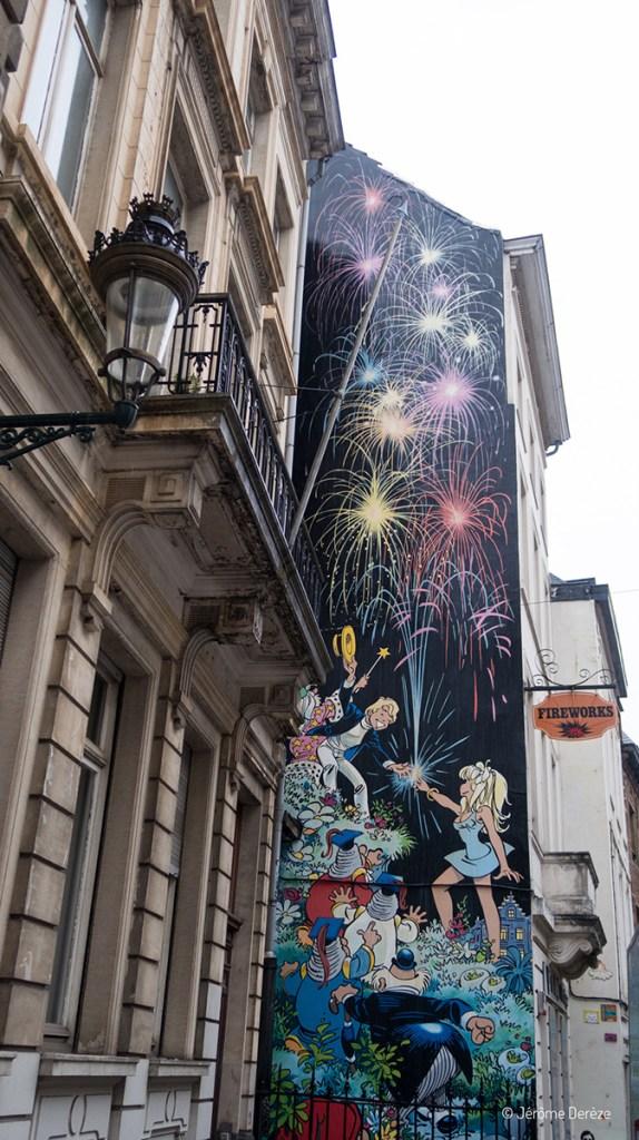 Fresques de la Bande dessinée à Bruxelles