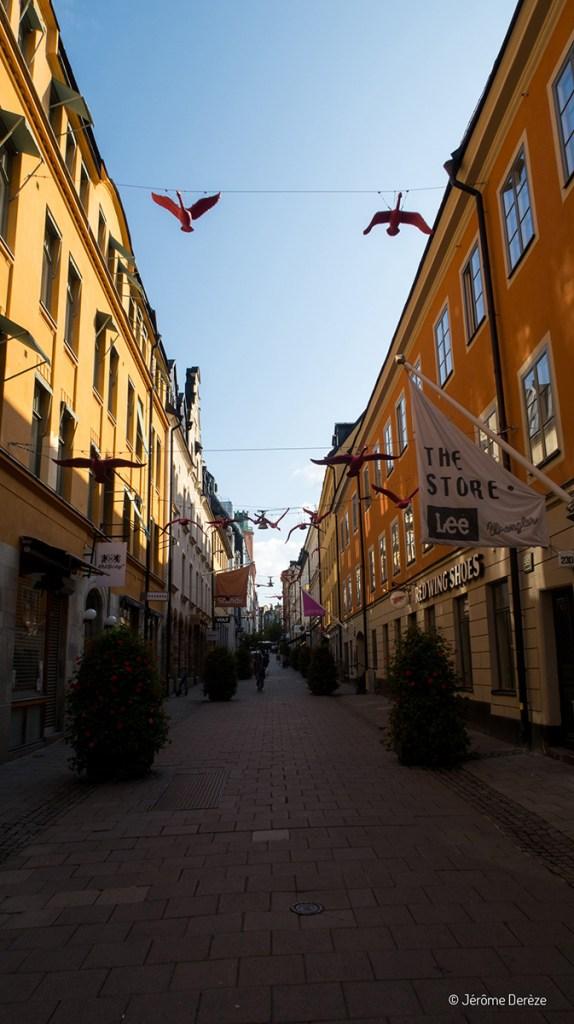 cœur historique de Stockholm