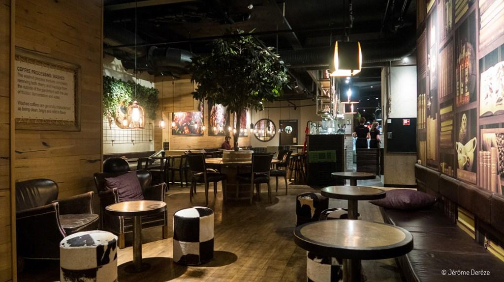 Boire un café à stockholm - Espresso house