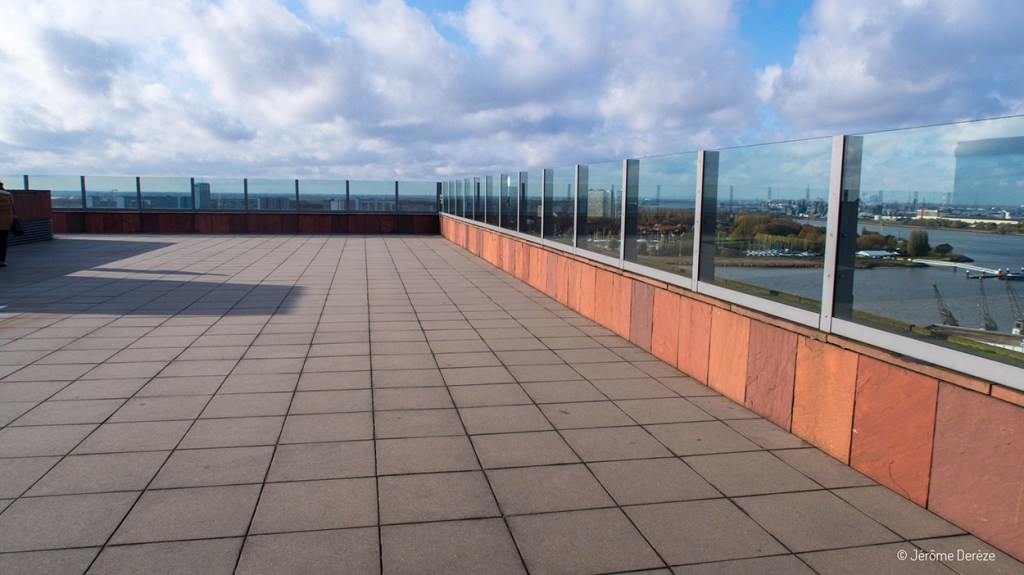 Toit panoramique au MAS Museum à Anvers