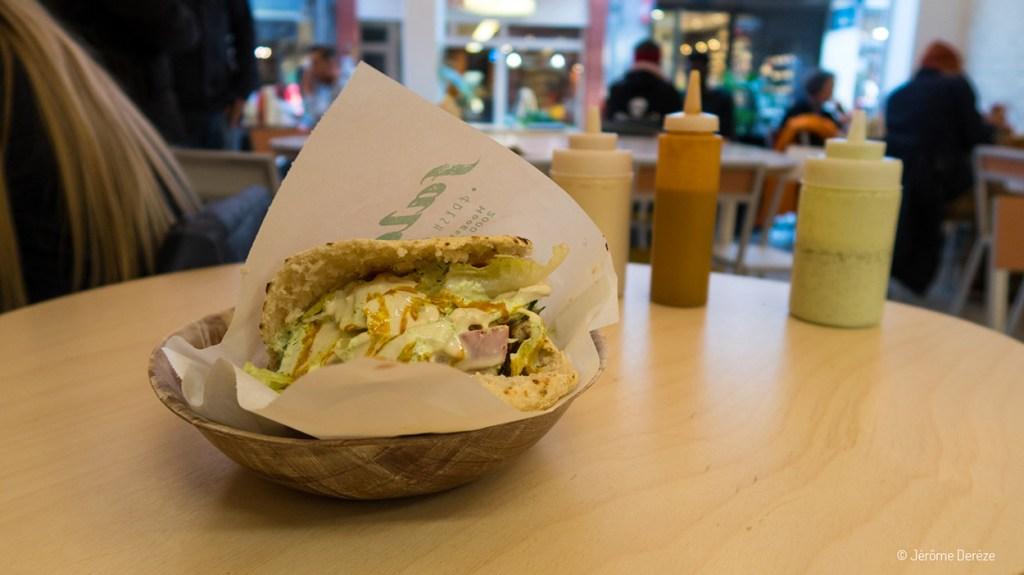 Manger végétarien à Anvers - Falafel