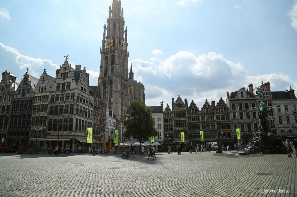 Cathédrale Notre-Dame - Grand Place d'Anvers
