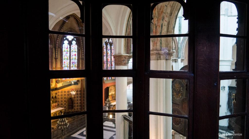 Musée Gruuthuse - musée historique de bruges - Vue sur l'Église Notre-Dame