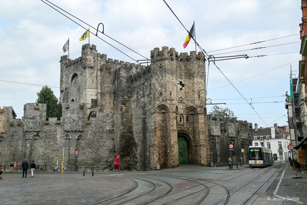 Château des Comtes de Flandre à gand