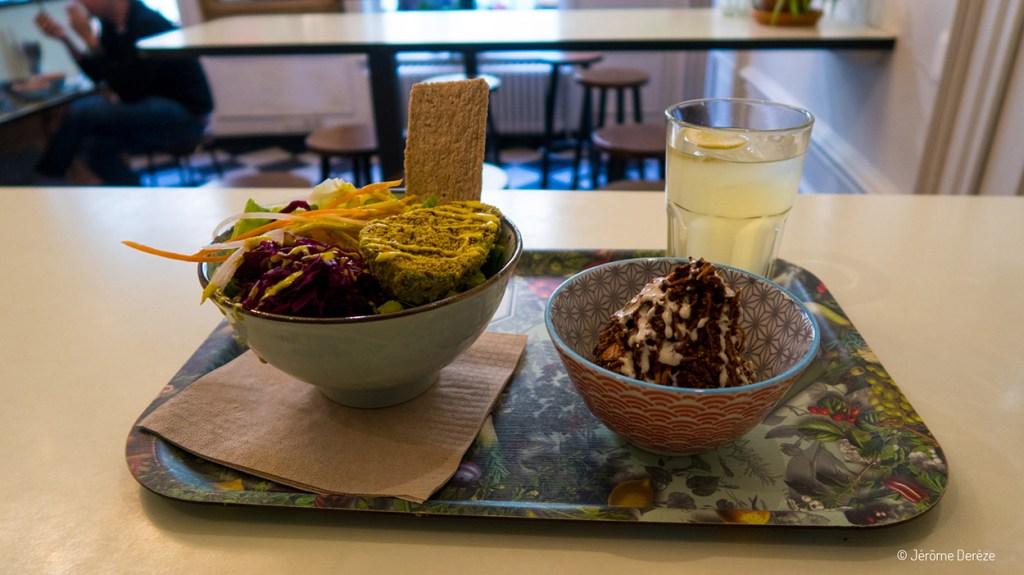 manger végétarien à gand - Le botaniste