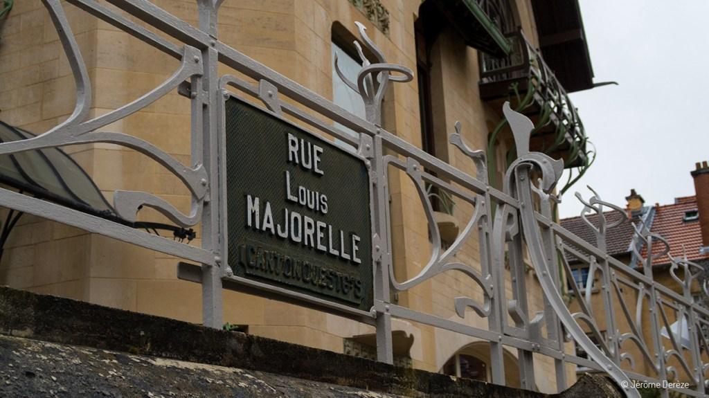 Panneau Rue Louis Majorelle