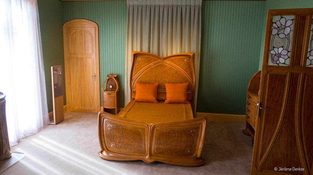 Art Nouveau à Nancy - Chambre de la Villa Majorelle