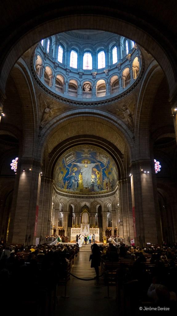 Intérieur de la Basilique du Sacré-Cœur