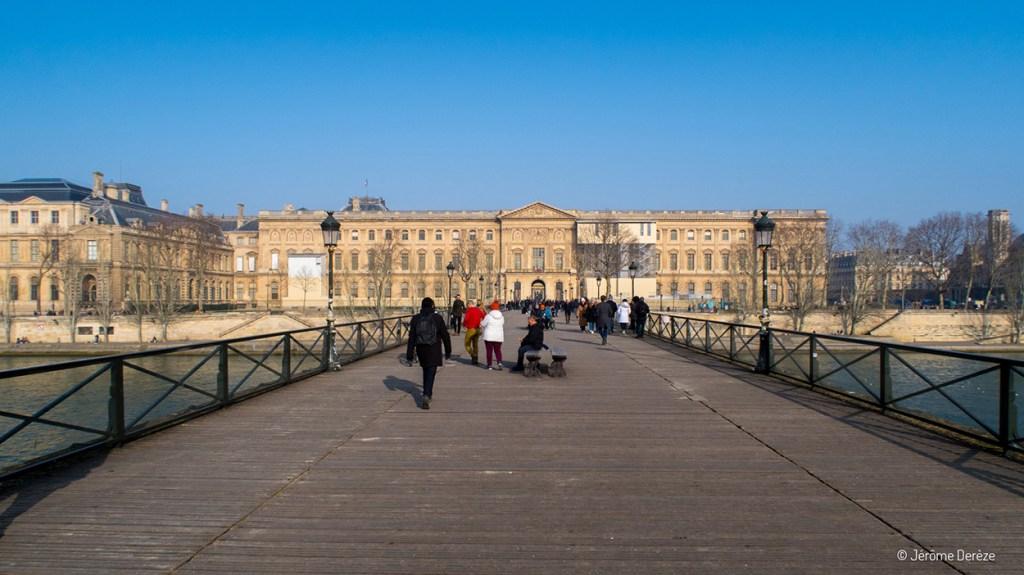 Pont des Arts à Paris