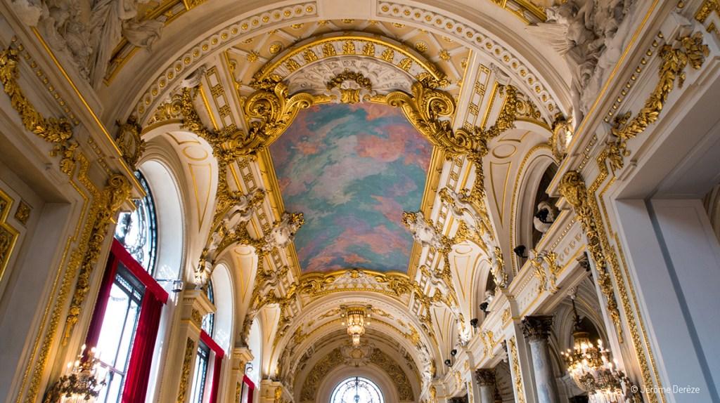 Intérieur de l'Opéra de Lille