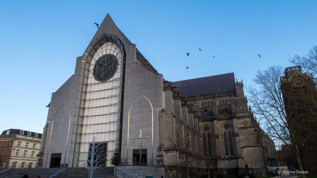 Extérieur de la Cathédrale Notre-Dame-de-la-Treille