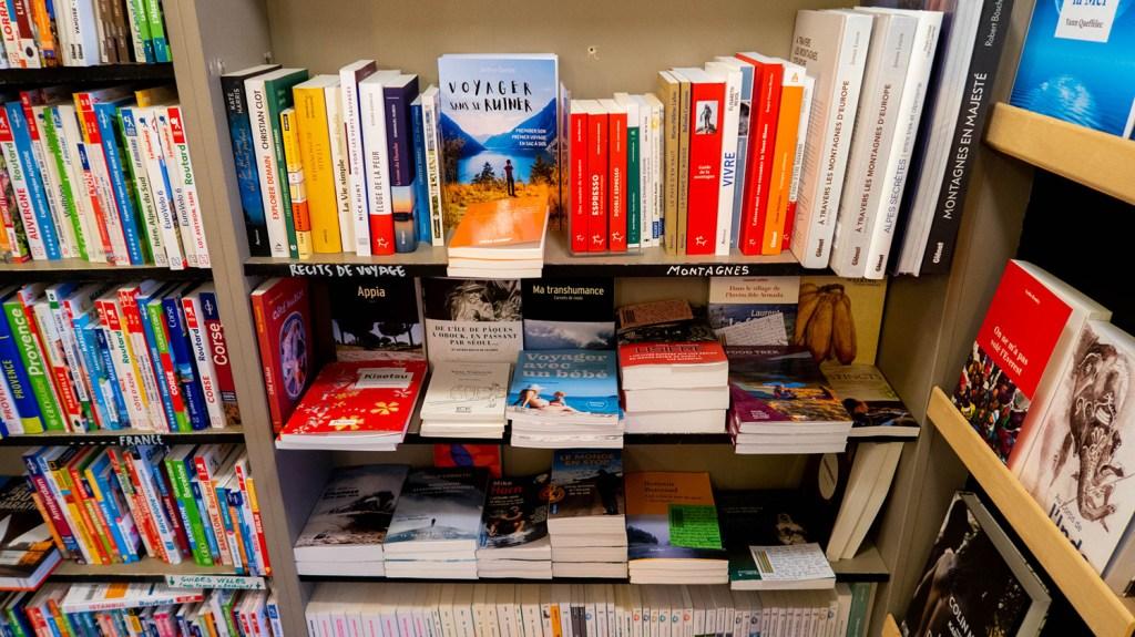 Un livre auto-édité en librairie