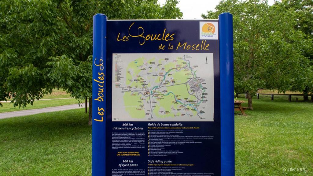 Parcours de la Boucle de la Moselle