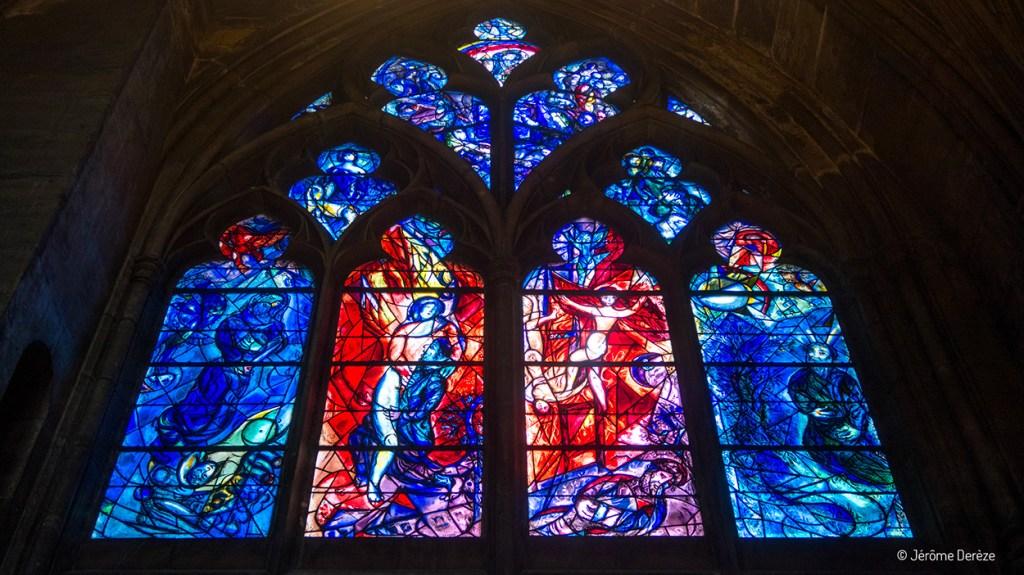 vitraux de Chagall à la Cathédrale Saint-Étienne de Metz