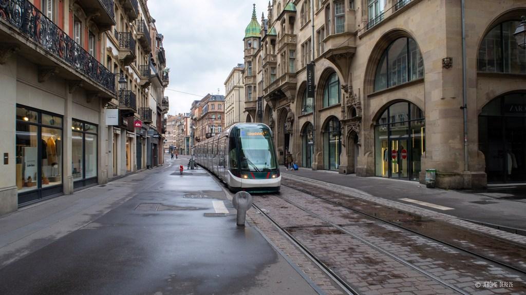 Se déplacer en tram à strasbourg