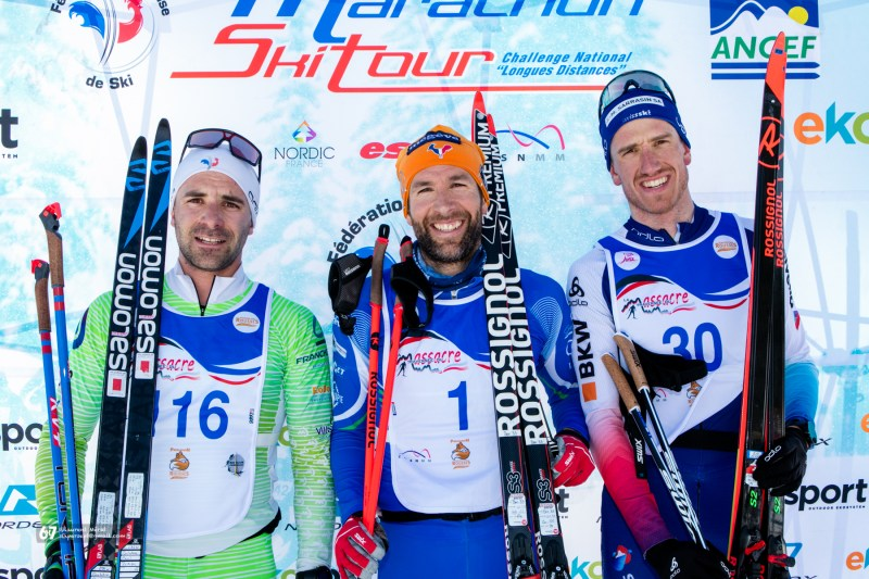 Podium homme - Traversée du Massacre 2020, format long