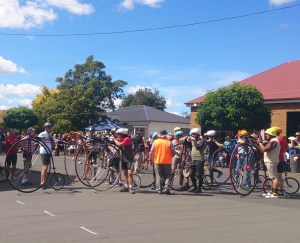 Relay Preparation, National Penny Farthing Championships